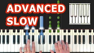 Christina Perri - A Thousand Years - Piano Tutorial Easy SLOW - Twilight (Synthesia)