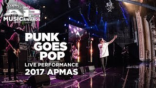 APMAs 2017 Performance: PUNK GOES POP LIVE! medley, GRAYSCALE