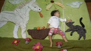 Japanese Mom Turns Her Sleeping Infant into Art