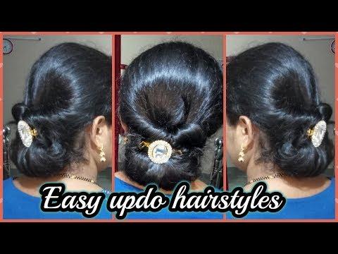 Xxx Mp4 Easy Updo Tutorial For Long Hair Hair Tutorial Easy Elegance Hair Bun Indian Vlogger Sangeeta 3gp Sex