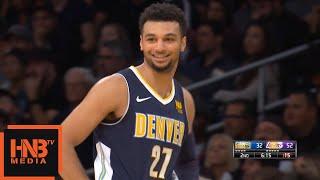 Jamal Murray Gets Technical Foul / LA Lakers vs Nuggets
