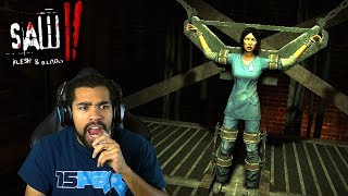 WAIT, THAT WILL TEAR HER IN HALF IF I FAIL?!   Saw II: Flesh and Blood   #11
