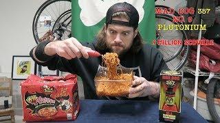 9 Million Scoville Spicy Ramen Noodle Challenge   L.A. BEAST