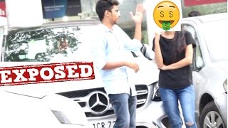 Download SUPERCARS GOLD DIGGER PRANK - EXPOSED (twist in end )  | PRANKS IN INDIA | 3Gp Mp4