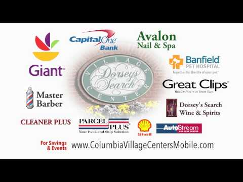 Dorsey's Search Village Center Shopping Commercial