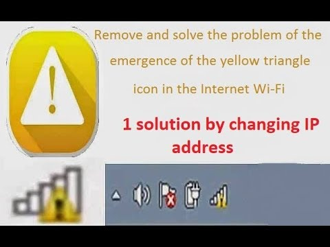 Xxx Mp4 How To Fix Yellow Triangle On The Internet Connection In Windows Easy Amp Simple 3gp Sex