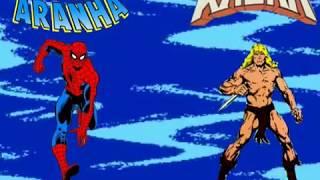 Gibi vídeo-  Homem aranha vs Kazar