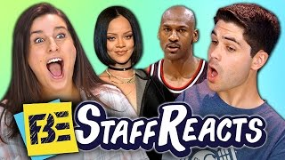 GUESS THAT CELEBRITY CHALLENGE (ft. FBE STAFF)