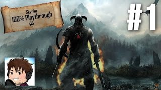 Let's Play Skyrim Part 1 - The 100% Playthrough