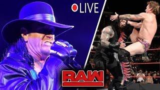 WWE Monday Night RAW 1/9/2017 Highlights : Undertaker Returns - WWE RAW 9 January 2017 Highlights HD