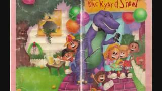 Barney & The Backyard Gang The Backyard Show Cassette