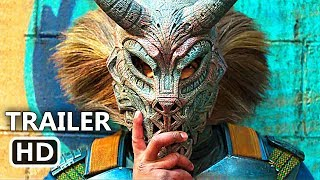 BLACK PANTHER Official Trailer (2018) Blockbuster, Marvel Movie HD