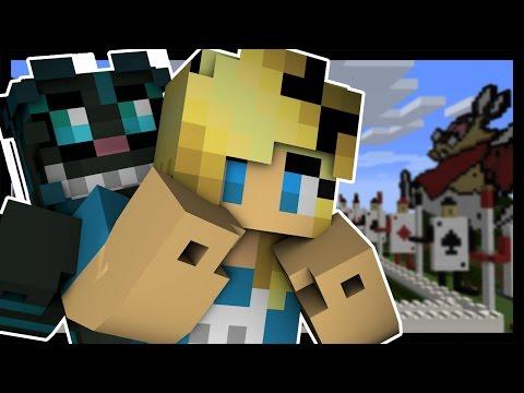 Minecraft Dreams ALICE IN WONDERLAND Custom Roleplay w TheFearRaiser