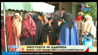 Garissa residents decry frequent power blackouts during Ramadhan