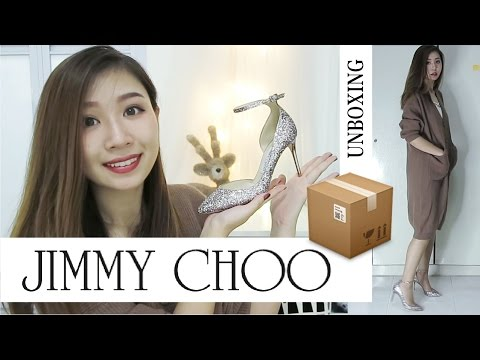 Xxx Mp4 JIMMY CHOO Lucy 85 Tea Rose 开箱 Unboxing TRY ON Rainology 3gp Sex