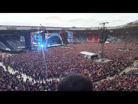 AC/DC  Thunderstruck Live Glasgow 2015