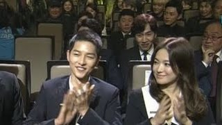 Song Joong Ki & Song Hye Kyo [ENG SUB] Highlights & Speeches @ Korea Popular Culture & Arts Awards