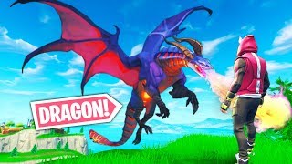 *NEW TRICK* MAKE YOURSELF INTO A DRAGON..!! | Fortnite Funny and Best Moments Ep.284