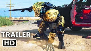 CARTEL 2045 Official Trailer (2018) Danny Trejo, Sci-Fi Robot Movie HD