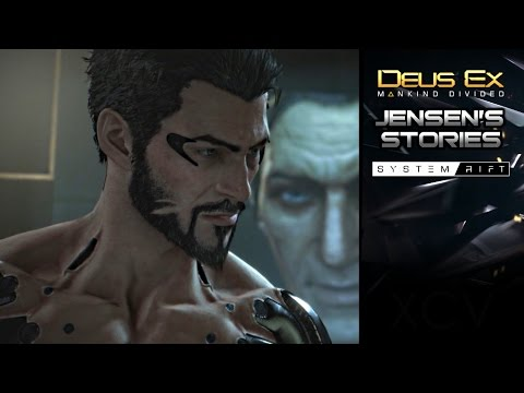 DEUS EX: Mankind Divided 'System Rift' DLC Gameplay Full Walkthrough + ENDING (Jensen's Stories)