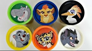 Disney Jr. THE LION GUARD Learn Colors, Animal Sounds, Play doh Toy Surpirses / TUYC