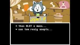 Undertale: Paying for Temmie's College