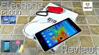 Elephone P6000 - [Review] - MTK6732 64Bit - 5.0