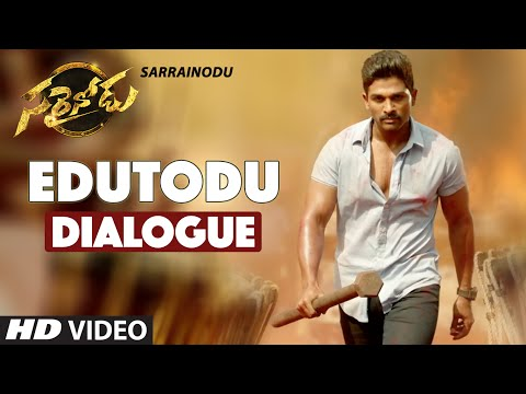 Xxx Mp4 Sarrainodu Dialogues Edutodu Dialogue Trailer Allu Arjun Rakul Preet Catherine Tresa 3gp Sex