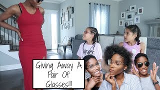 My Kids Rates My Outfits + FREE GLASSES GIVEAWAY!