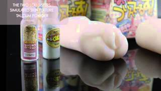 Real Hip & Vagina Mold of 17 year old Twin sisters~The Little Loli   TOYS FOR HIM