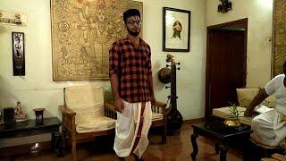 How to wear Dhoti |Panjagajam| How to wear Panchakacham