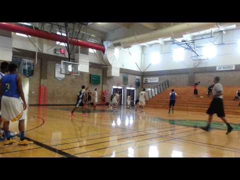 Fall AAU 2014 Napa Comets vs Fairfield Ballers