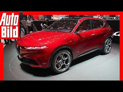 Alfa Romeo Tonale Genf 2019 Test erste Infos Sitzprobe Details
