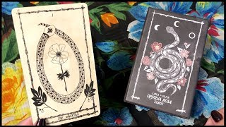 🌹 Ophidia Rosa Tarot Deck Unboxing, First Impressions & Flip Through 🌹