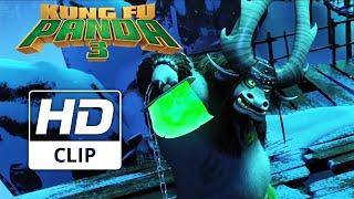 Kung Fu Panda 3 | 'Kai and Po meet at Panda Village' | Official HD Clip | 2016
