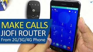 How To Make Call From Your mobile JIOFI & Non VoLTE Device (HINDI)