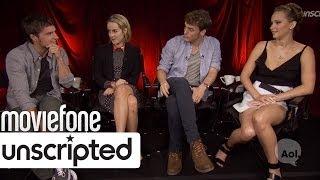 'Hunger Games: Catching Fire' | Unscripted | Jennifer Lawrence, Josh Hutcherson, Malone, Claflin