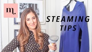 How To Steam Your Clothes (The Right Way)