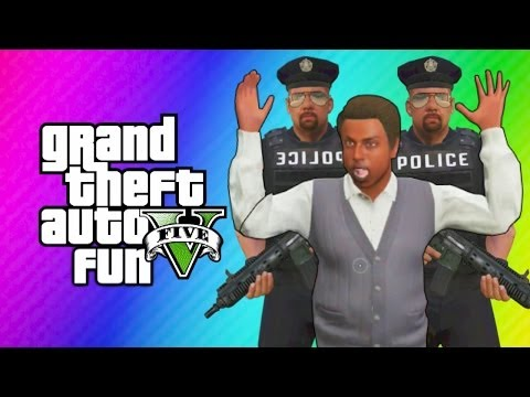 GTA 5 Online - Robbing Spree! (GTA 5 Funny Moments, Skits, & Challenge)
