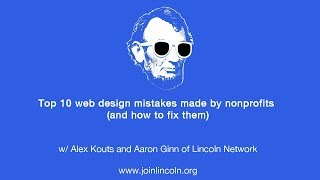 Top 10 web design mistakes made by nonprofits (and how to fix them)