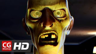 "CGI Animated Short Film: ""Hungry Zombie"" by ISART DIGITAL 