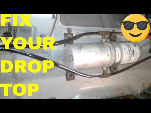 How To Replace Fix 2000 Chrysler 300m Mode Door Actuator