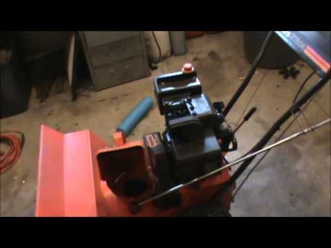 How to fix a Snowblower that won't start