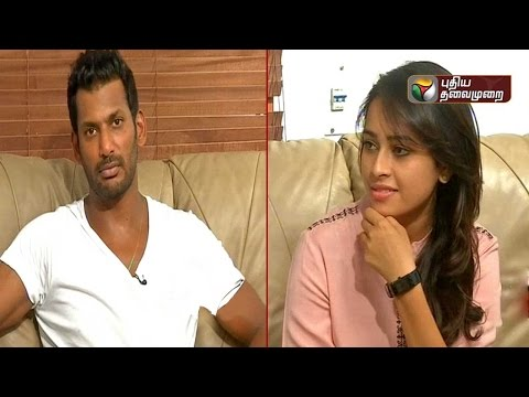 Special Interview with Marudhu movie Actor Vishal and Actress Sri Divya