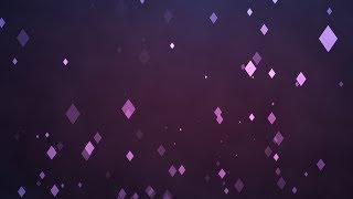 Free Animated Background - Purple Swirling Diamonds!!