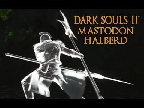 Dark Souls 2 Mastodon Halberd Tutorial (dual wielding w/ power stance)