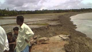 কোম্পানীগঞ্জ নদী গর্ভে বিলিন