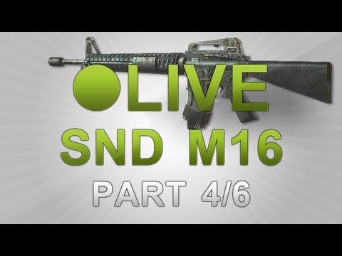 MW3: LIVE Search and Destroy M16  (4/6) - Flawless Perfection