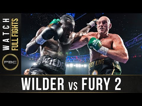 Wilder vs Fury 2 FULL FIGHT February 22 2020