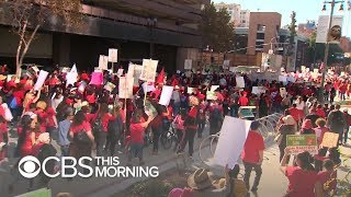 Los Angeles teachers go on strike after failed negotiations with district